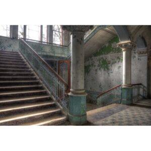 Urbex foto op plexiglas 'Stairs'