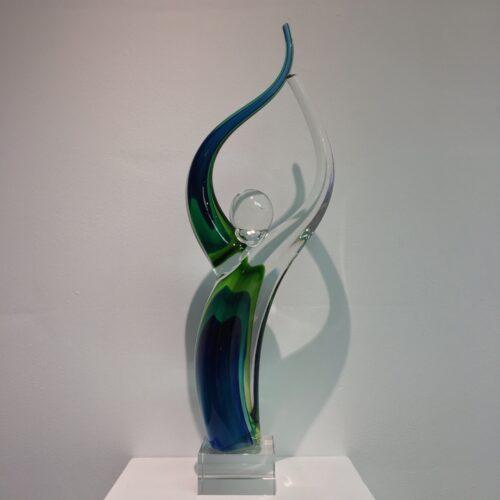 Vetro glas beeld 'Falo'