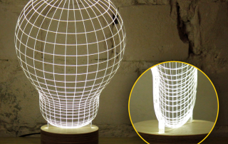 Studio Sheha 'Bulbing Lamp'