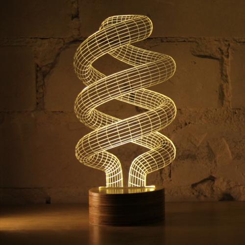 Studio Cheha BULBING lamp '#Spiral'