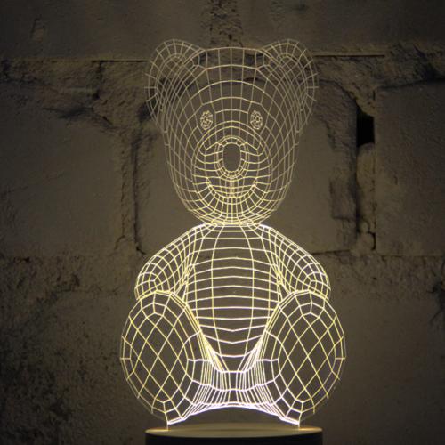 Studio Cheha BULBING lamp '#TeddyBear'