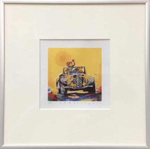 Ad Verstijnen kunstdruk 'Citroen Traction'