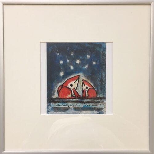 Hans Innemee kunstdruk 'Expectantly Night...'