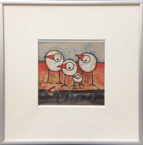 Hans Innemee kunstdruk 'To be Looking..'