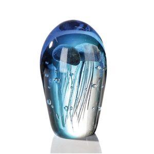 Vetro glas beeld 'Bol met kwallen'