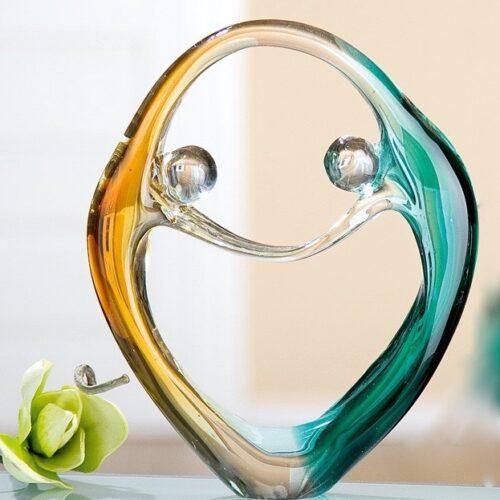 Gilde glas 'Danspaar'