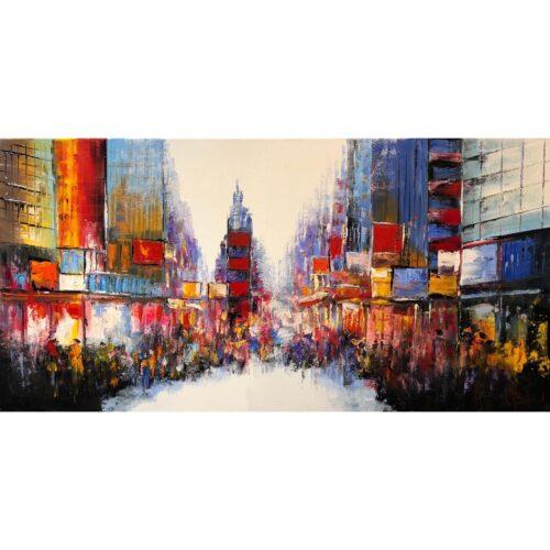 Henry Brand schilderij 'City View'