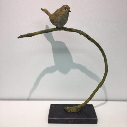Laurens Spier bronzen beeld 'On the lookout'