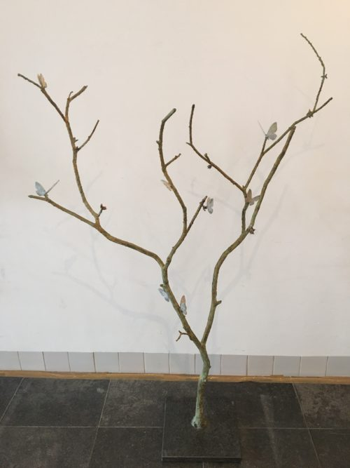 Laurens Spier bronzen beeld 'Butterfly's'