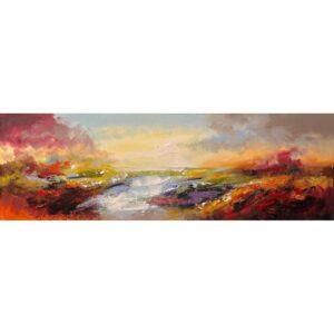 Jochem de Graaf schilderij 'Landschap II'