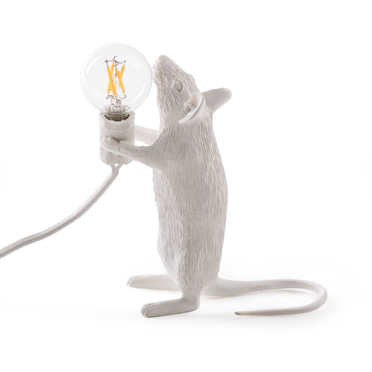 seletti mouse lamp 39 standing 39 14 x 8 cm led verlichting. Black Bedroom Furniture Sets. Home Design Ideas