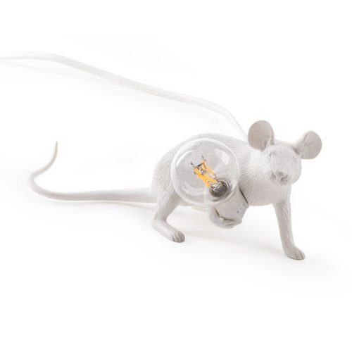 Seletti mouse lamp 'Lie down'