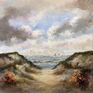 Henry Brand schilderij 'Strand'