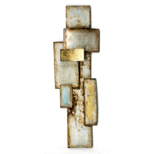 Metal Art 3D wandobject 'Abstract I'