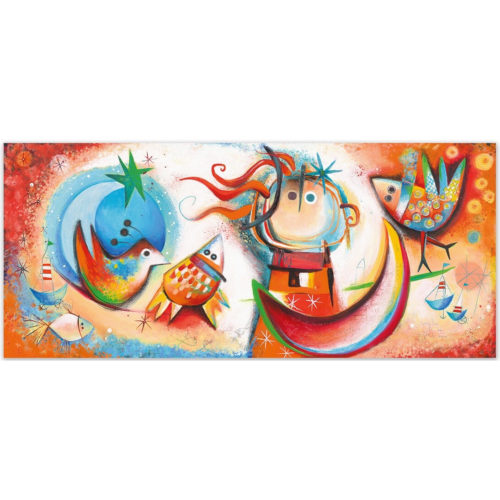 Angeles Nieto schilderij 'Danza de Verano'