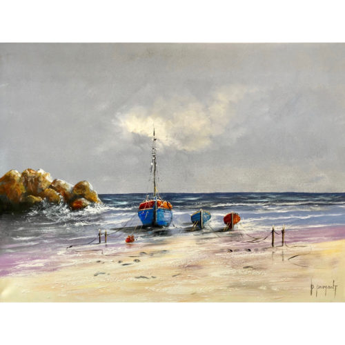D. Dumont schilderij 'Sunset'