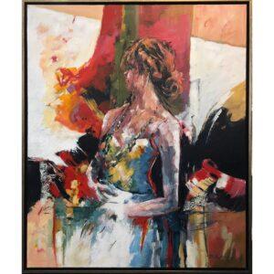 Ricky Damen schilderij 'Pretty Woman'