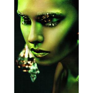 Foto op glas 'Glamour'
