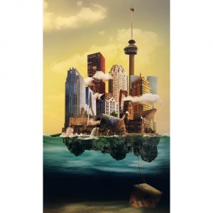 Sander du Floo fotocompilatie 'Rotterdam'