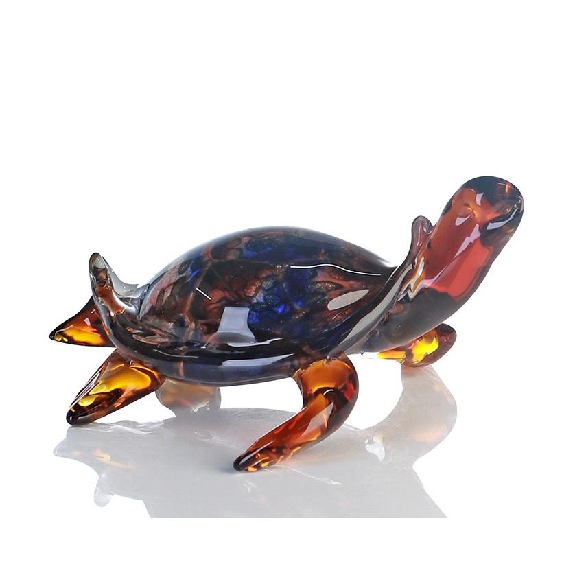 Vetro glas beeld 'Schildpad'