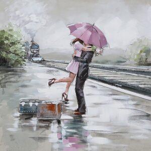 Schilderij 'Say goodbye'
