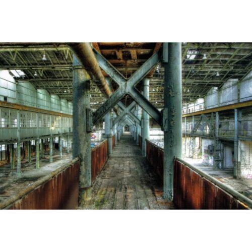 Urbex foto op plexiglas 'Factory'