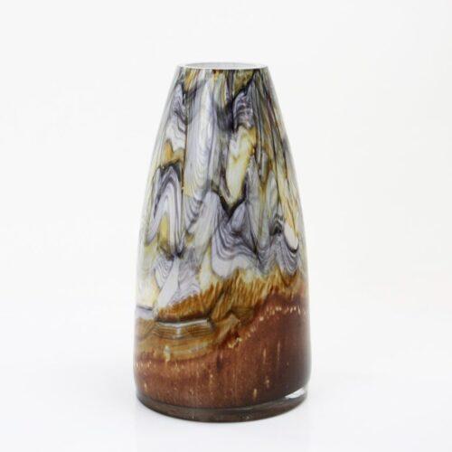 Loranto glas Vaas hoog 'Earth'