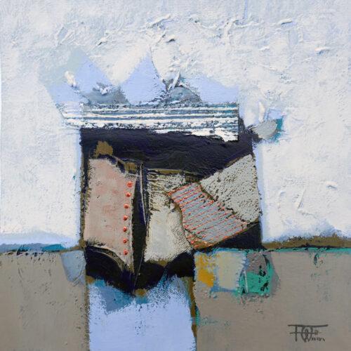 Fred Wieser schilderij 'Abstract I'