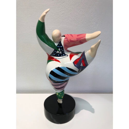 Mia Coppola Dancing Ballerina 'Green Stripe' (L)