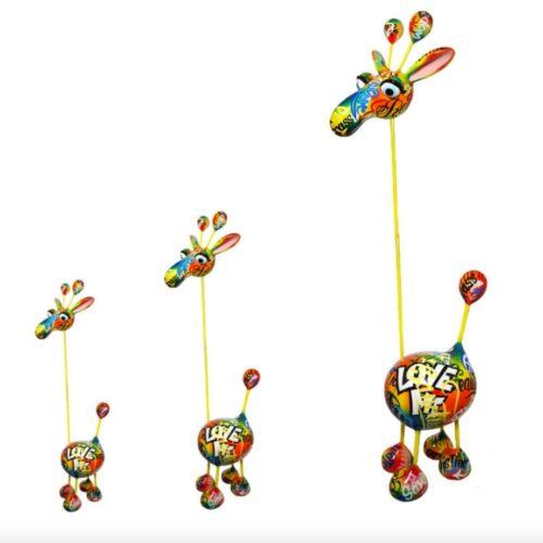 Mia Coppola Crazy Giraffe 'Graffiti' (S)