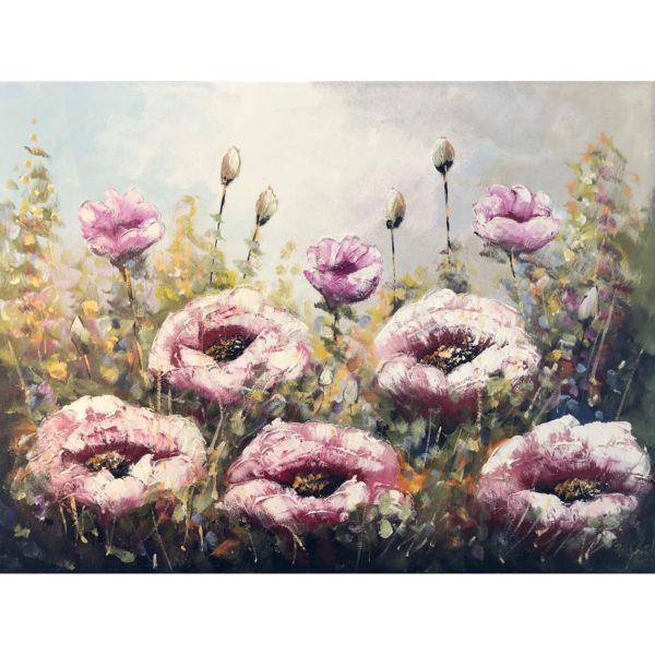 Jochem de Graaf schilderij 'Klaprozenveld'