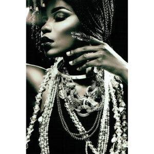Foto op glas 'Jewels