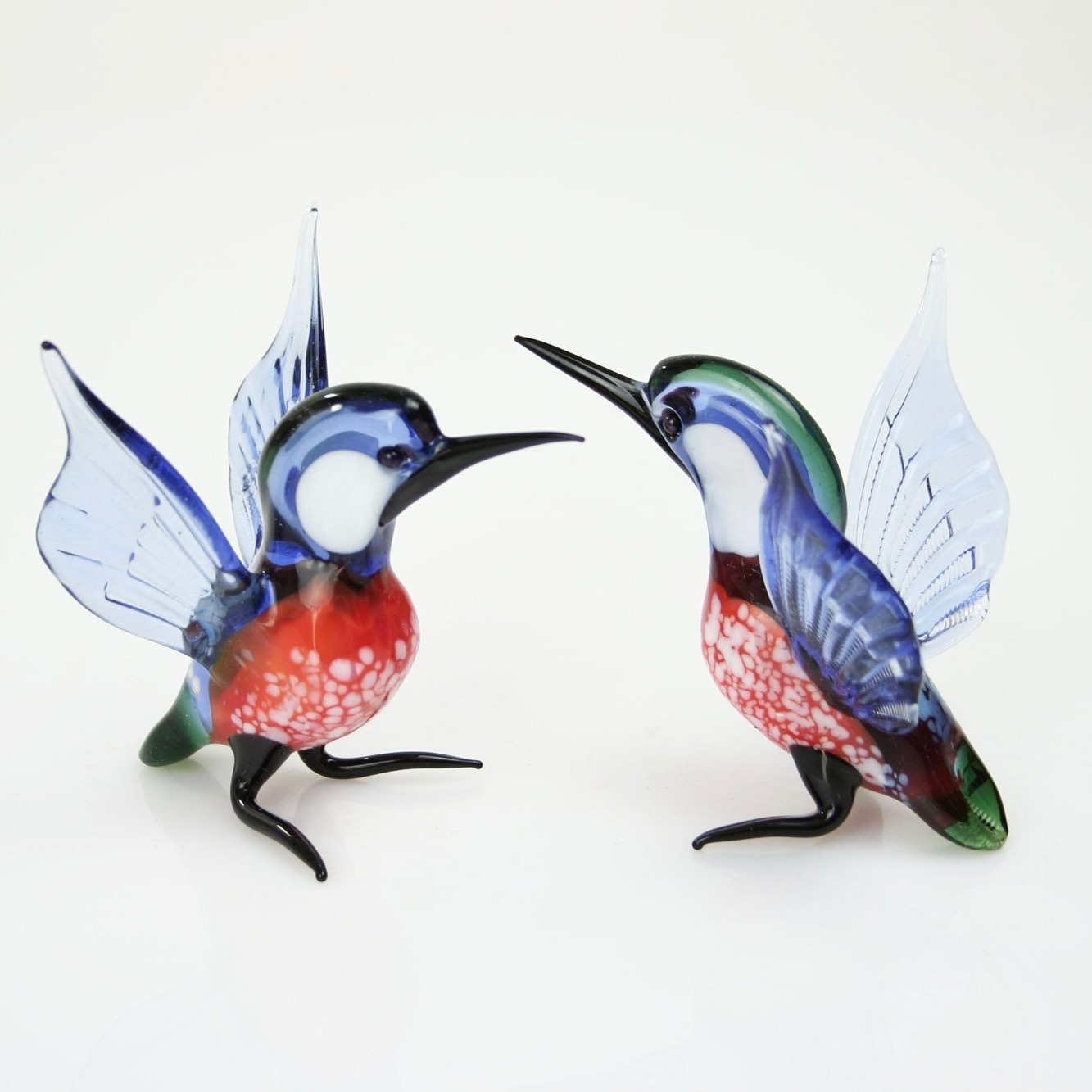 Loranto glazen beeld 'IJsvogel'