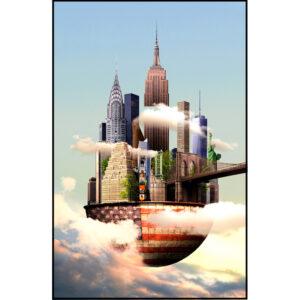 Sander du Floo fotocompilatie 'New York'