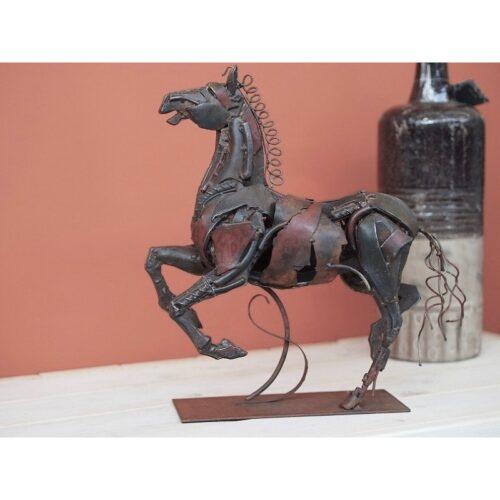 Metal Art beeld 'Paard'