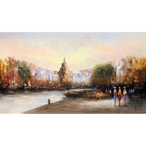 Henry Brand schilderij 'Haven'