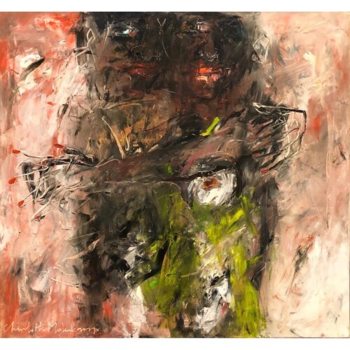 Charlotte Molenkamp schilderij 'Love'