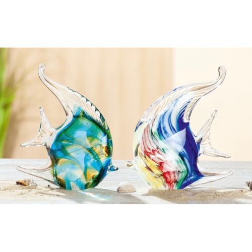 Gilde glas '2 Koraalvissen'