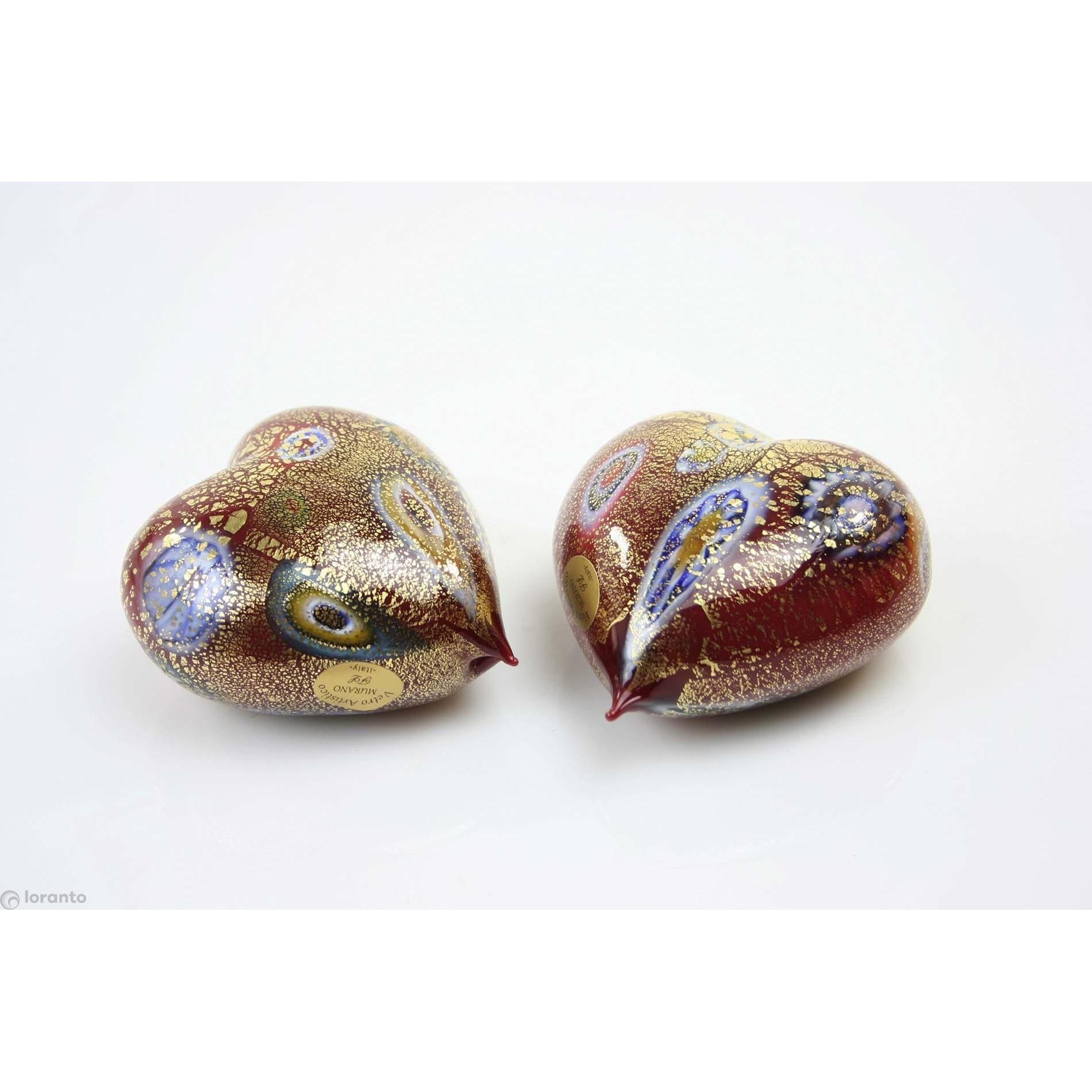 Murano glas 'Hart groot'