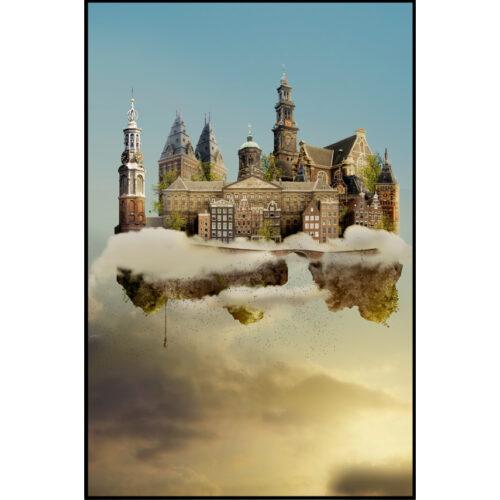 Sander du Floo fotocompilatie 'Amsterdam'