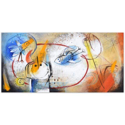 Angeles Nieto schilderij 'Mi Isla'