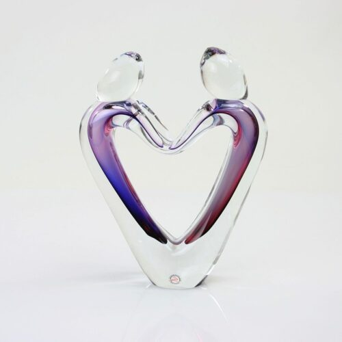 Loranto Ozzaro kristal verbondenheid 'Blauw/Rood'