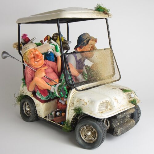 Forchino beeld 'The Buggy Buddies'