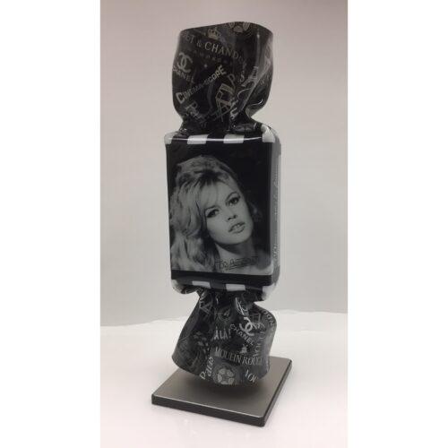 Ad van Hassel Pop Art toffee 'Brigitte Bardot'