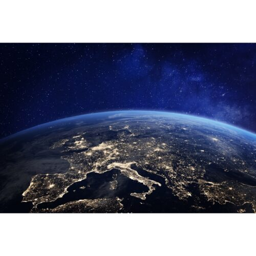 Foto op plexiglas 'Earth from above'