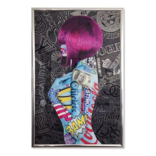 Michael Daniels POP-ART 'Body Fashion'