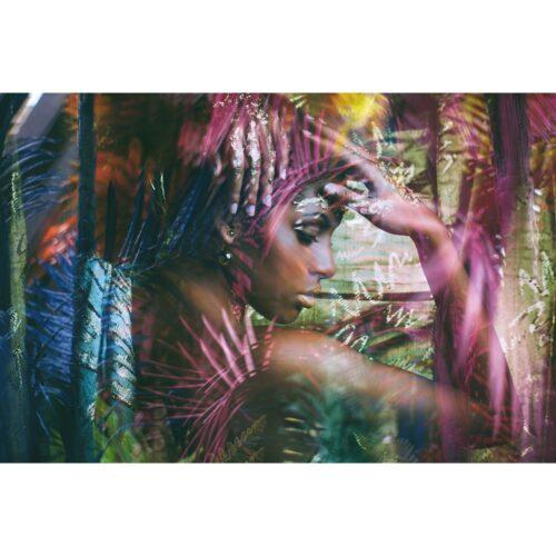 Foto op plexiglas 'Jungle Girl'