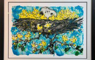 Snoopy schilderijen door Tom Everhart