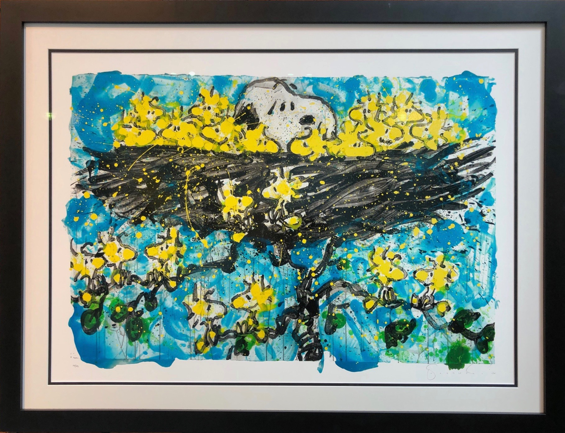 Snoopy schilderijen door Tom Everhart