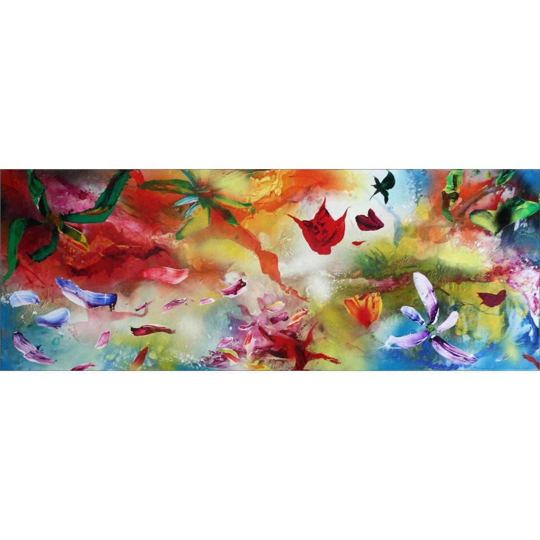 Plamen Bibeschkov schilderij 'Secret live of flowers I'